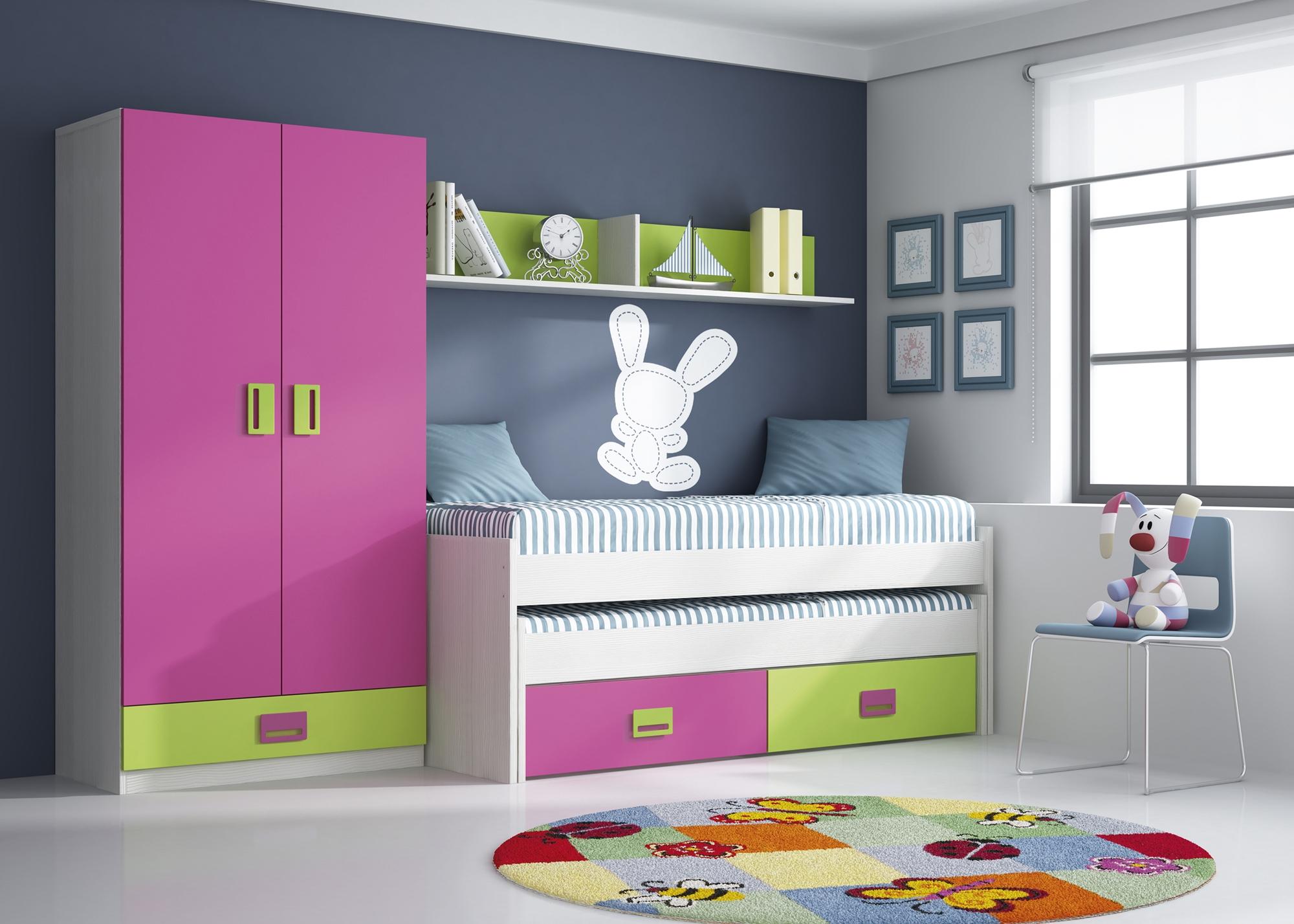 Dormitorios juveniles baratos villalba elefante blanco for Dormitorios juveniles baratos