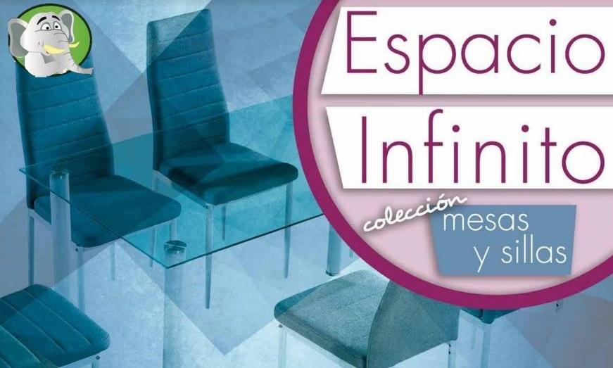 Ver Catálogo Sillas y Mesas Espacio Infinito