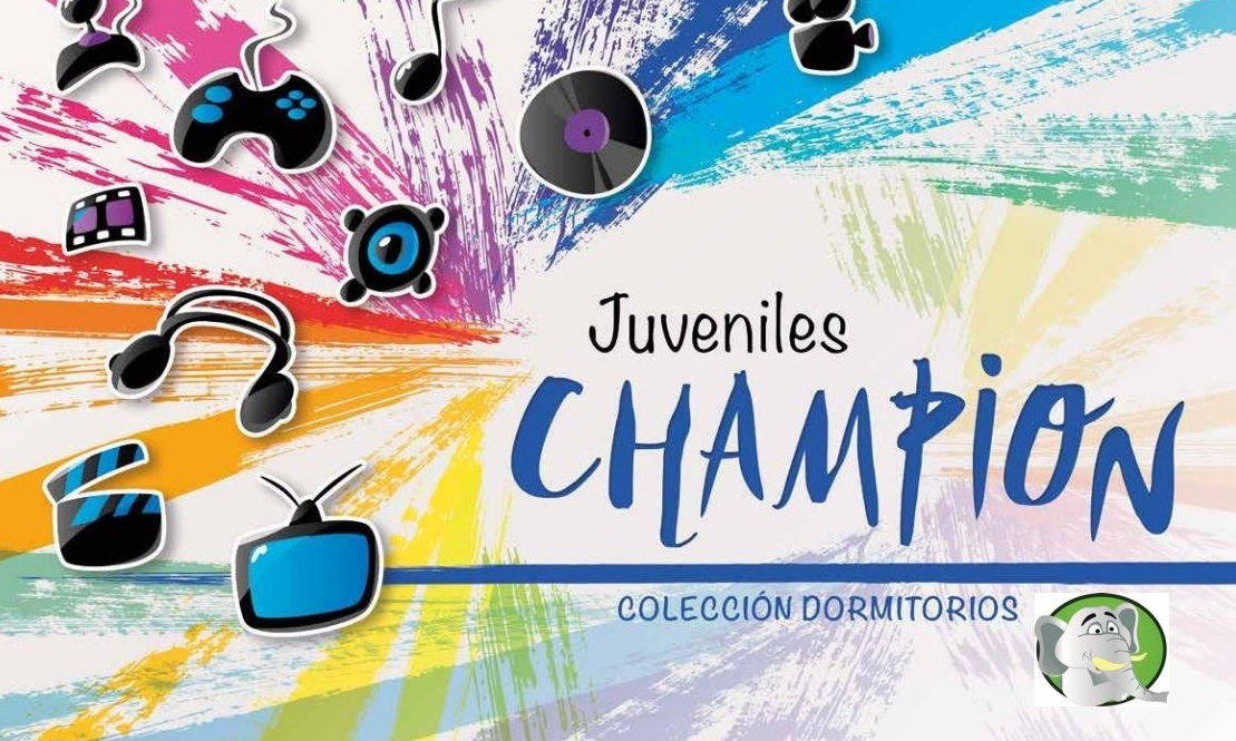Ver Catálogo Dormitorios Juveniles Champion