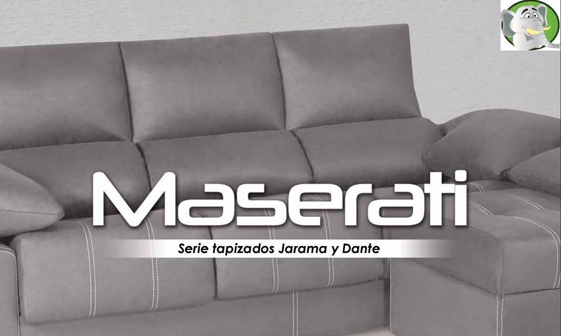 Ver Catálogo Sofás Maserati