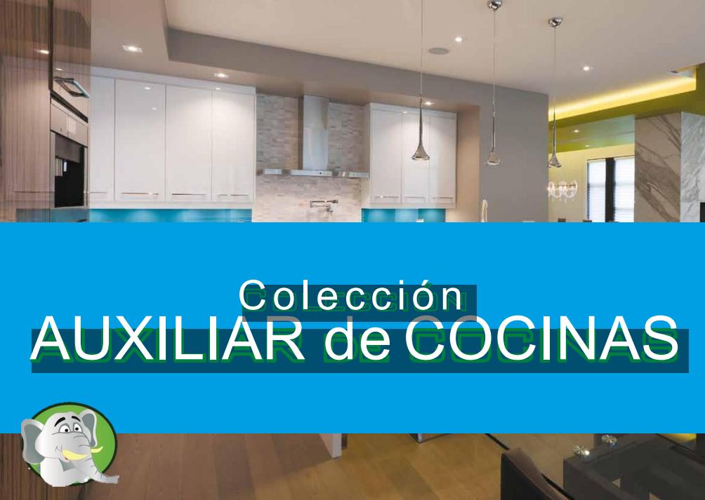 Ver Catálogo Muebles Auxiliares Cocina